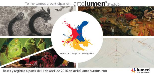 Convocatoria Arte Lumen 2016