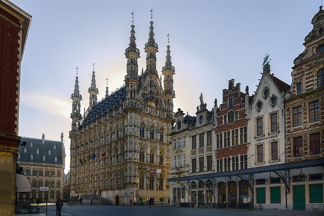Maestría en Ciencias belgica beca
