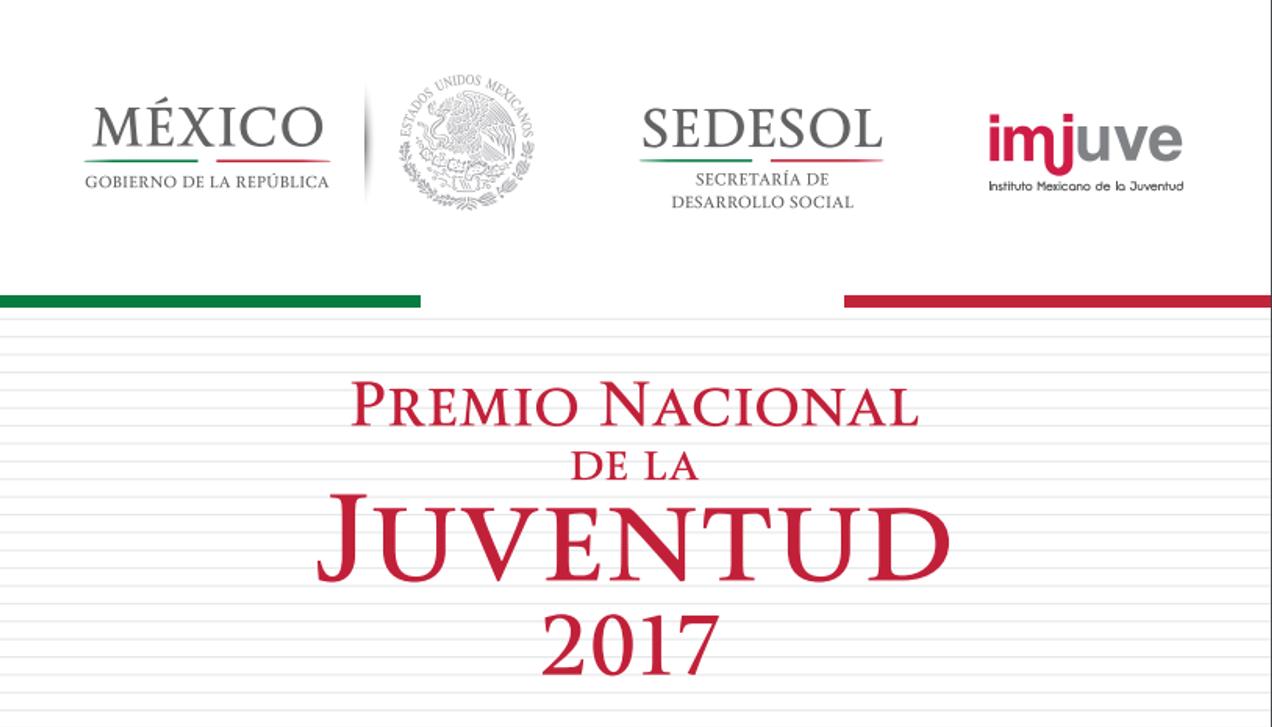 convocatoria premio nacional de lajuventud 2017