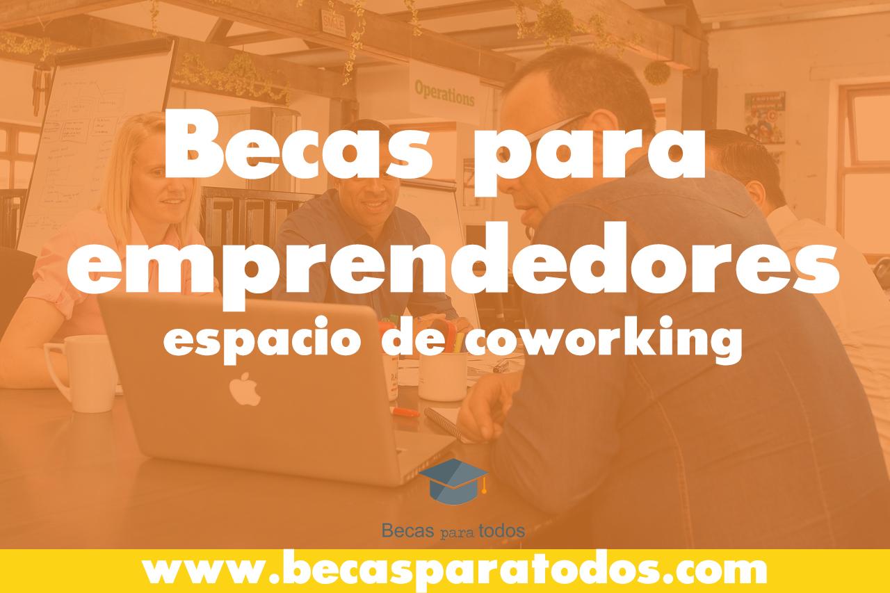 becas coworking españa lanau