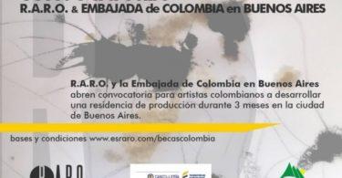 becas raro para artistas colombianos