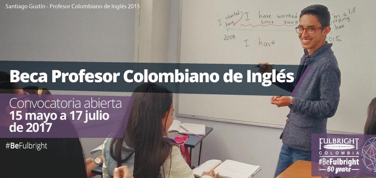beca profesores colombianos español estados unidos