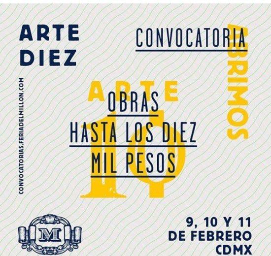 convocatoria arte diez obras mexico