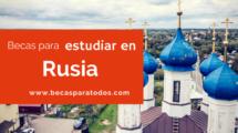 Rusia becas 2018-2019