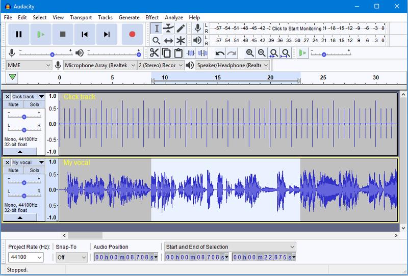 Graba los mejores audios con Audacity
