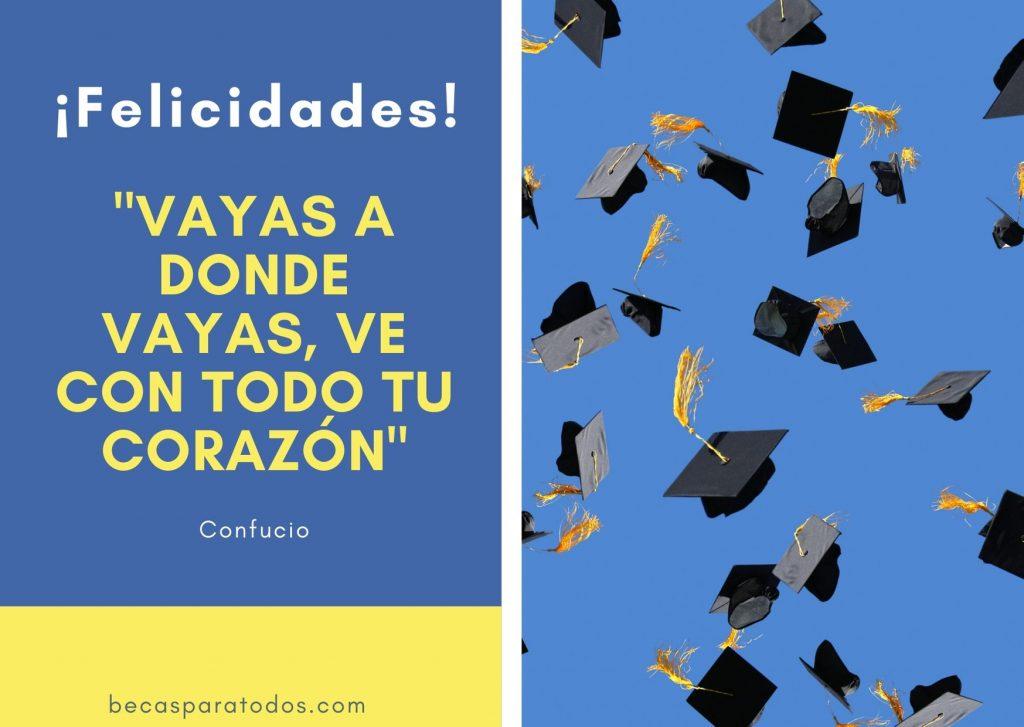 frases cortas para graduados